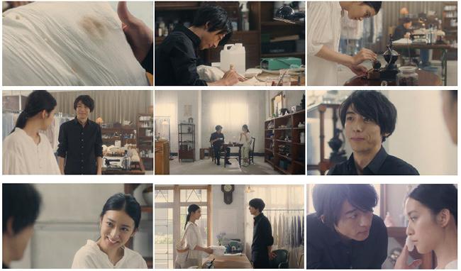 資生堂「スノービューティー」『Laundry Snow』 朝篇『21:25 東京発、 プラハ行き』