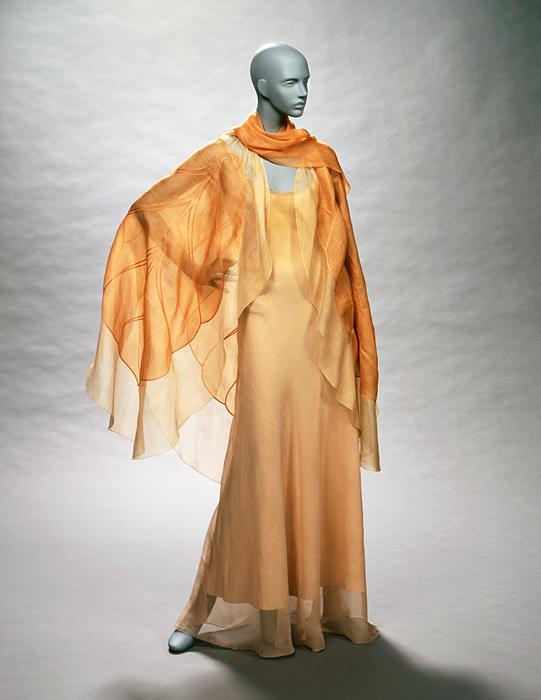 イヴニング・ドレス マドレーヌ・ヴィオネ 1933年頃 フランス