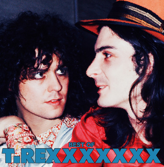 T.Rex『BEST OF T.REXXXXXXX』ジャケット