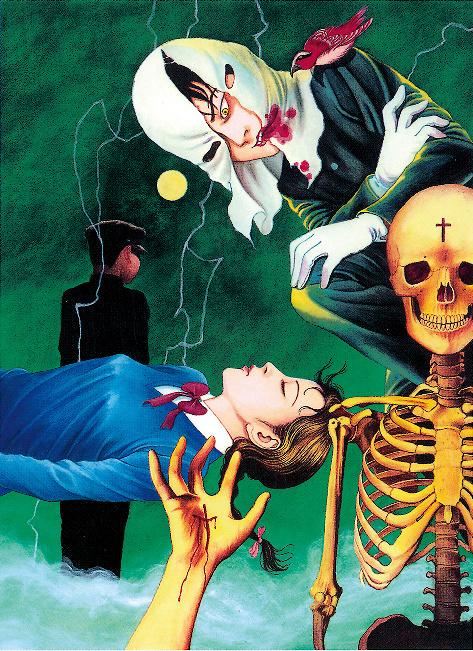丸尾末広『笑う吸血鬼』 ©怪奇幻想歌劇「笑う吸血鬼」製作委員会