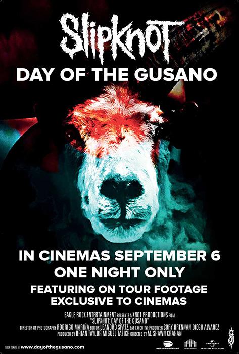 『DAY OF THE GUSANO』ビジュアル