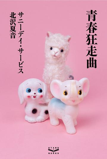 サニーデイ・サービス、北沢夏音『青春狂走曲』表紙