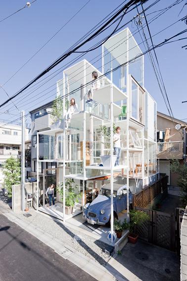 藤本壮介『House NA』(2011) ©Iwan Baan
