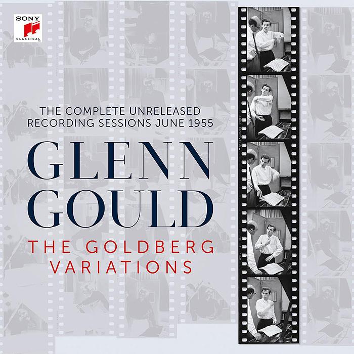 『グレン・グールド/ゴールドベルク変奏曲 コンプリート・レコーディング・セッションズ1955』ジャケット
