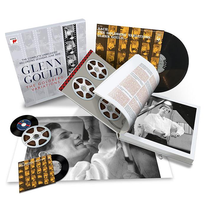 『グレン・グールド/ゴールドベルク変奏曲 コンプリート・レコーディング・セッションズ1955』パッケージイメージ