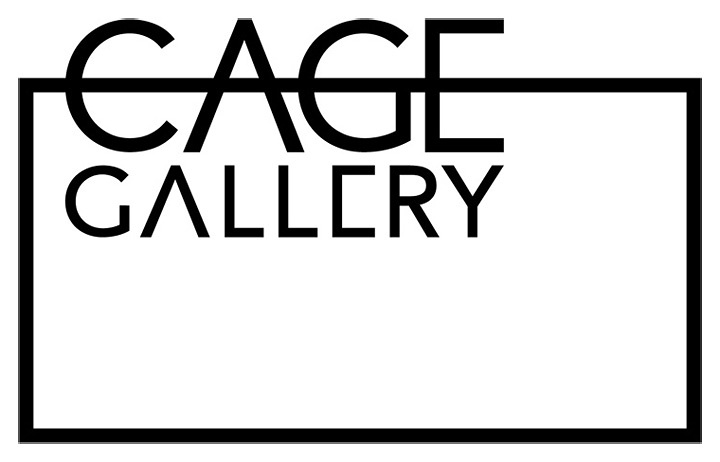「CAGE GALLERY」ロゴ