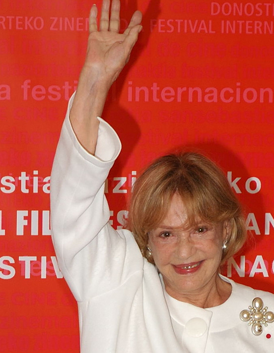 ジャンヌ・モロー Jeanne Moureau in the San Sebastian International Film Festival 2006 Oneras at http://flickr.com/photos/99058495@N00/249330155