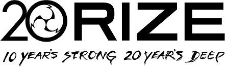 RIZE20周年ロゴ