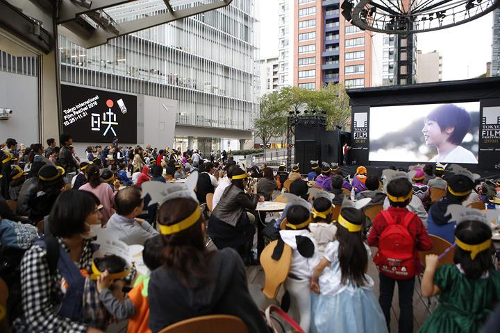『Cinema Arena 30!』イメージビジュアル ©2016 TIFF