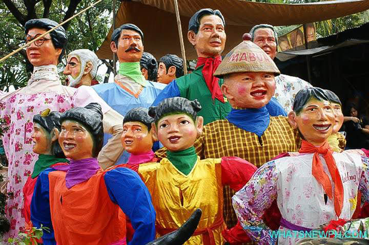 Neo Angono Artists Collective『Angono Higantes, Big and Small』 photo credit: photo walk Philippines/whatsnewph.com