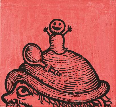 井上洋介『おだんごぱん』(福音館書店)より 1960年 刈谷市美術館蔵