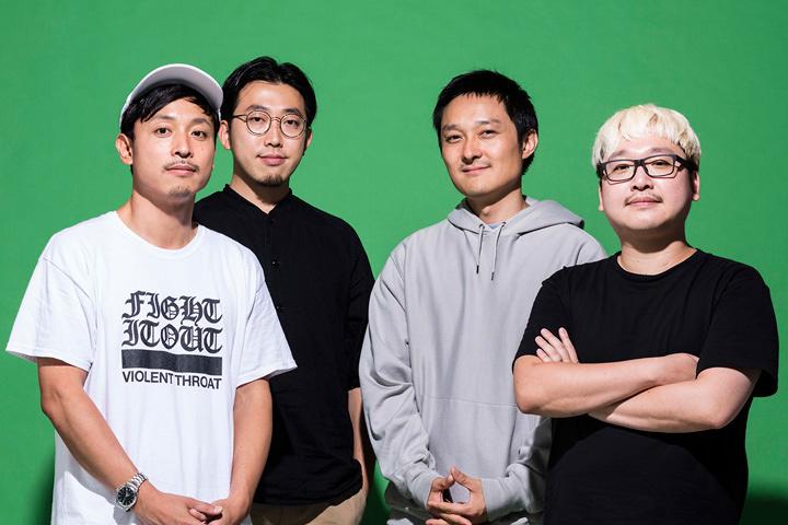 左から本田次郎、武田俊、古屋蔵人、五十嵐弘彦(lute株式会社)