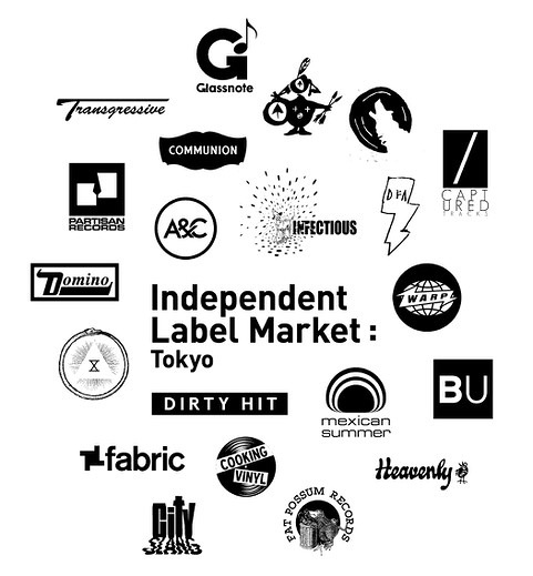 『INDEPENDENT LABEL MARKET:TOKYO』参加レーベルロゴ