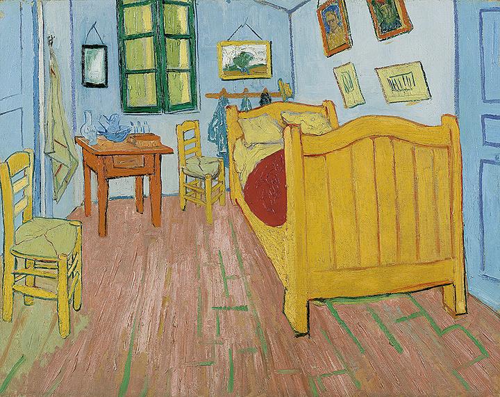 フィンセント・ファン・ゴッホ『寝室』 1888年、油彩・カンヴァス、ファン・ゴッホ美術館(フィンセント・ファン・ゴッホ財団)蔵 ©Van Gogh Museum, Amsterdam (Vincent van Gogh Foundation)