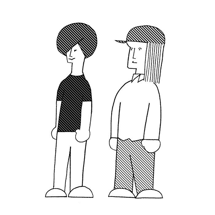 グッドラックヘイワ イラスト:YIMO