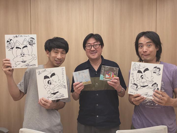 左から:伊藤大地、のむらしんぼ、野村卓史