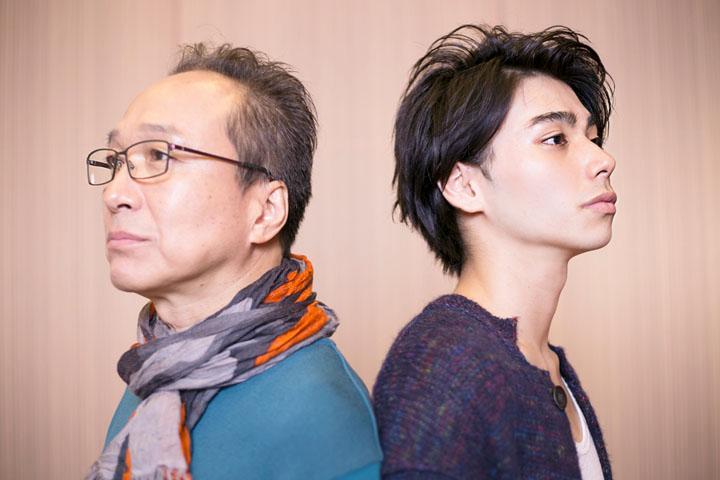 左から:小日向文世、村上虹郎 ©奥浩哉・講談社/アニメ