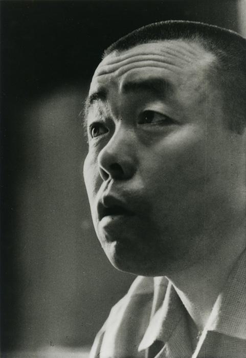 山下清 肖像(撮影:廣澤孝志)