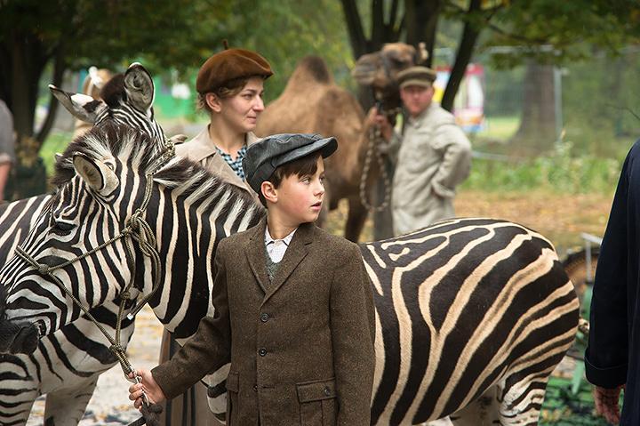 『ユダヤ人を救った動物園 アントニーナが愛した命』 ©2017 ZOOKEEPER'S WIFE LP. ALL RIGHTS RESERVED.