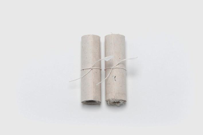 こよみ唄巻物 楮和紙(蛇胴紙、紙漉き:西田誠吉)、湧水で擦った炭