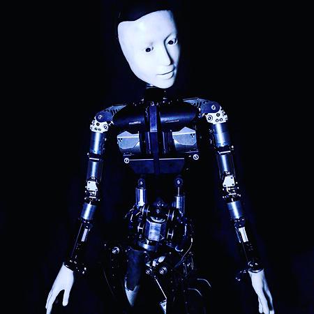 Skeleton - Ishiguro lab Osaka univiversity ©Justine Emard