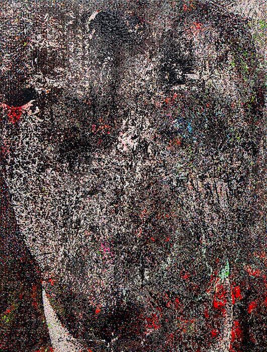 サイトウマコト『満ち足りた日々。Days of Fulfillment.』2017, oil on canvas, 215.0 × 163.0cm ©Makoto Saito, Courtesy of Tomio Koyama Gallery