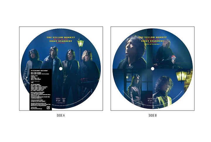 THE YELLOW MONKEY『ZIGGY STARDUST』アナログ盤ビジュアル