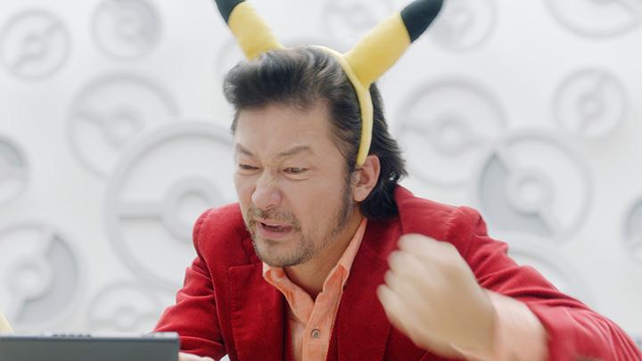 『ポッ拳 POKKEN TOURNAMENT DX』新テレビCM「ピカチュウの男」篇より