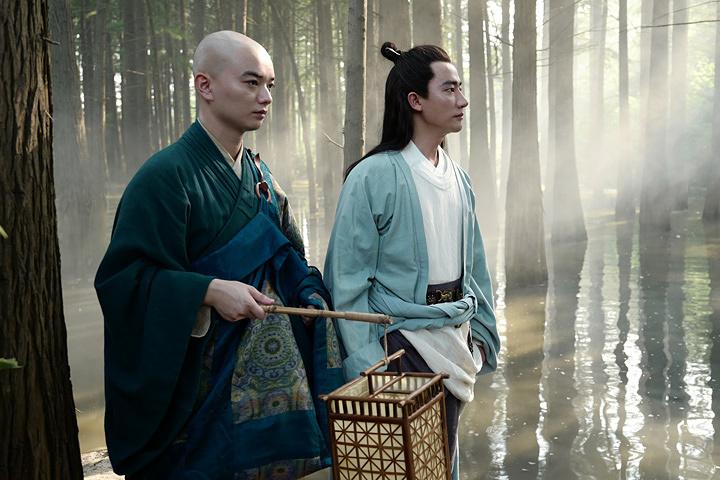 『空海―KU-KAI―』 ©2017 New Classics Media,Kadokawa Corporation,Emperor Motion Pictures,Shengkai Film