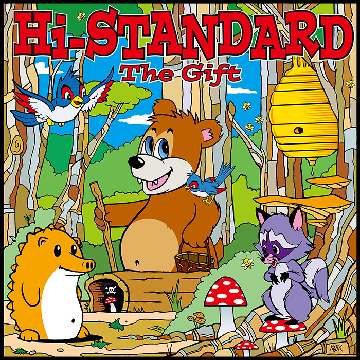 Hi-STANDARD『THE GIFT』ジャケット