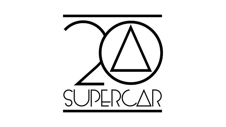 スーパーカー20周年ロゴ