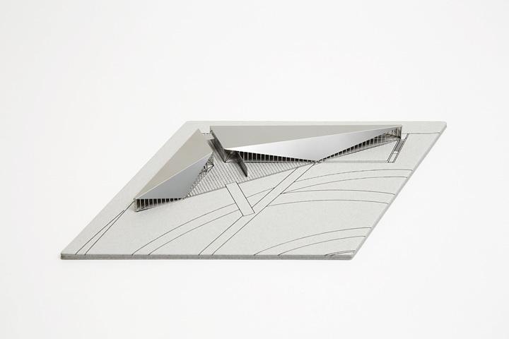 21_21ミニチュア建築模型 写真:木奥恵三