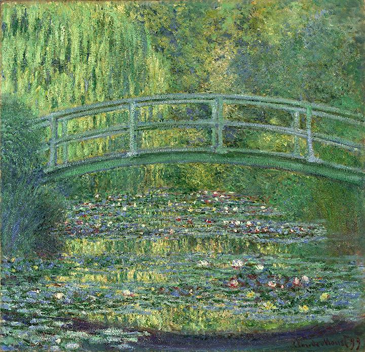 クロード・モネ『睡蓮の池』 1899年