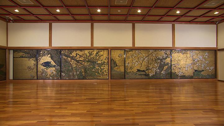 『国宝 楓図、桜図』