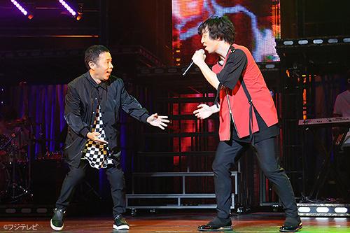 岡村隆史と三浦大知 『DAICHI MIURA BEST HIT TOUR 2017』大宮ソニックシティ公演より