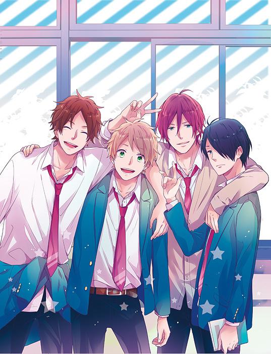 『虹色デイズ』原作ビジュアル ©水野美波/集英社マーガレットコミックス