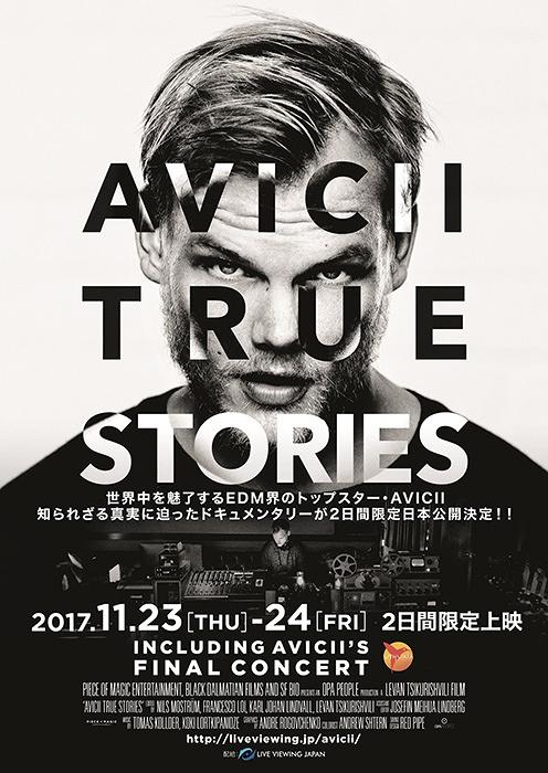 『AVICII: TRUE STORIES』ビジュアル