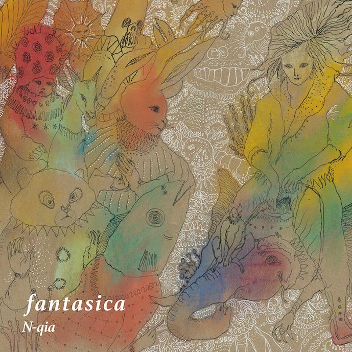 N-qia『fantasica』ジャケット
