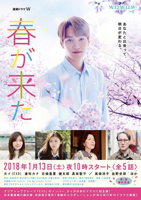 『連続ドラマW 春が来た』ポスタービジュアル