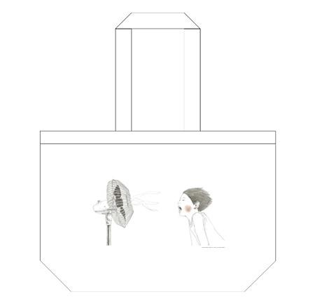 松本大洋『「いる」じゃん』原画展 トートバッグ イメージビジュアル