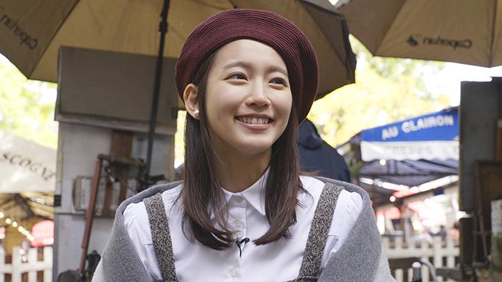 初めてパリを訪れた吉岡里帆 『ゴッホは日本の夢を見た』より