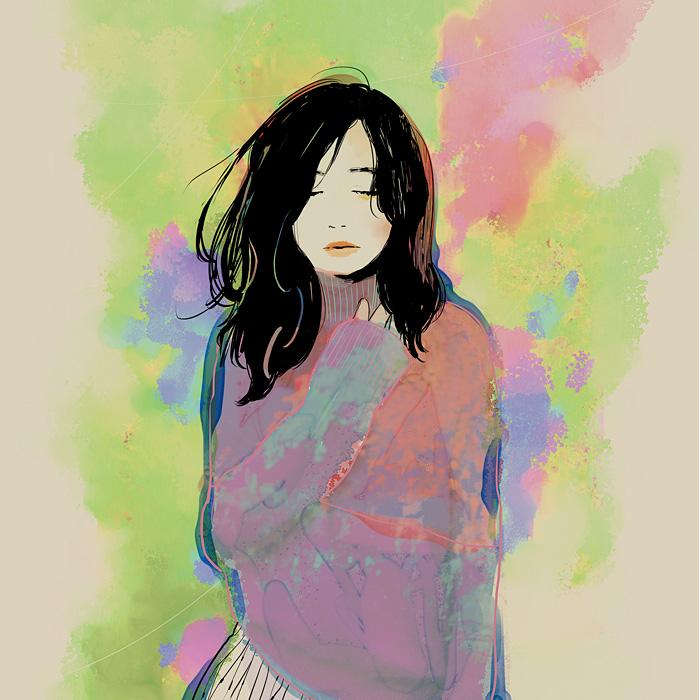 桐嶋ノドカ『言葉にしたくてできない言葉を』TYPE-Bジャケット