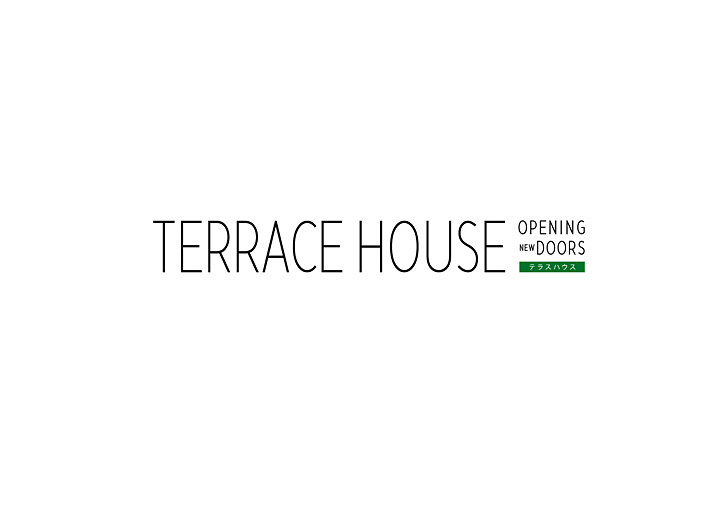 『TERRACE HOUSE OPENING NEW DOORS』ロゴ