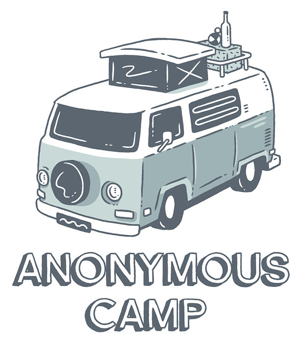 『Anonymous Camp』ロゴ