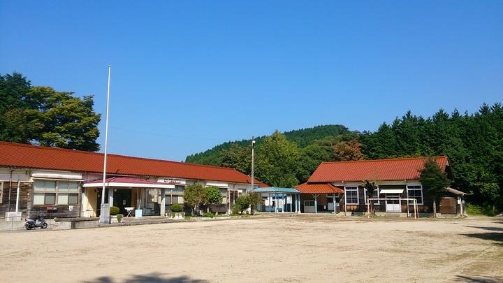 『天然コケッコー』ロケ地の旧後野小学校