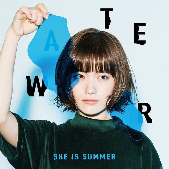 SHE IS SUMMER『WATER』ジャケット