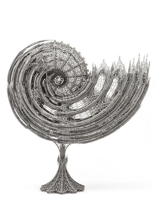 ヴィム・デルヴォワ『ノーチラス』(1/3縮尺模型)2013年 作家蔵 ©Studio Wim Delvoye, Belgium