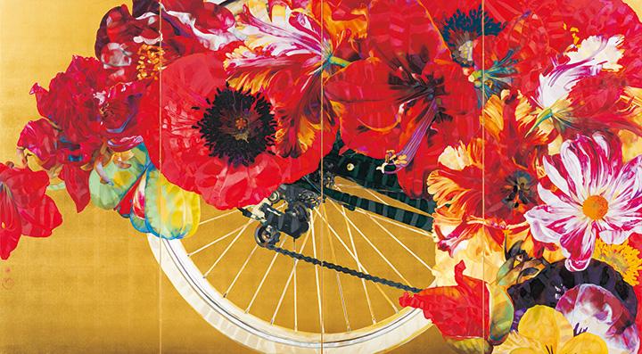 岩田壮平『flower』 2015年 株式会社サンロード蔵