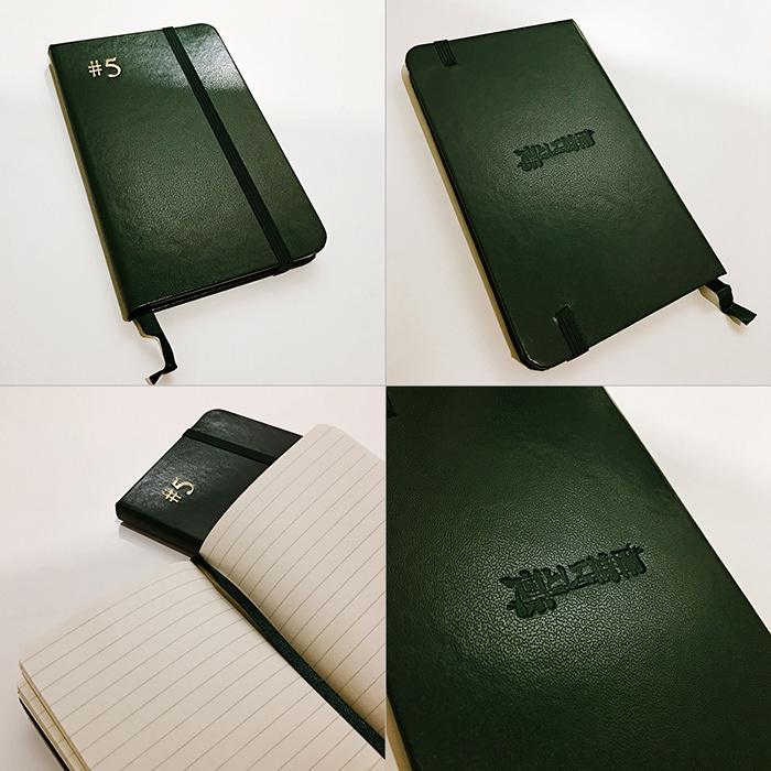 凛として時雨『#5』Loppi・HMV限定セット特典「#5 Mini Notebook」