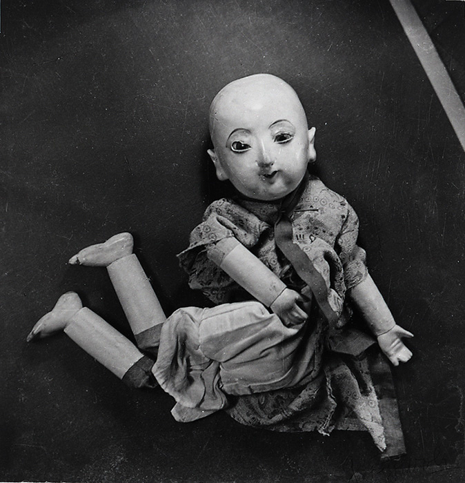 ヴォルス『無題』 1933年(1979年のプリント) 横浜美術館蔵